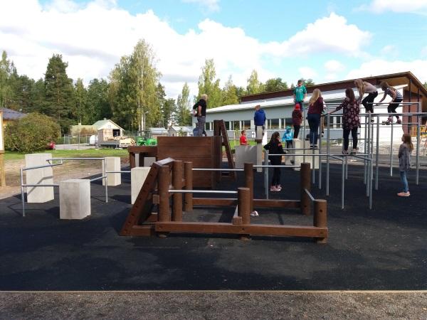 Parcour puisto web